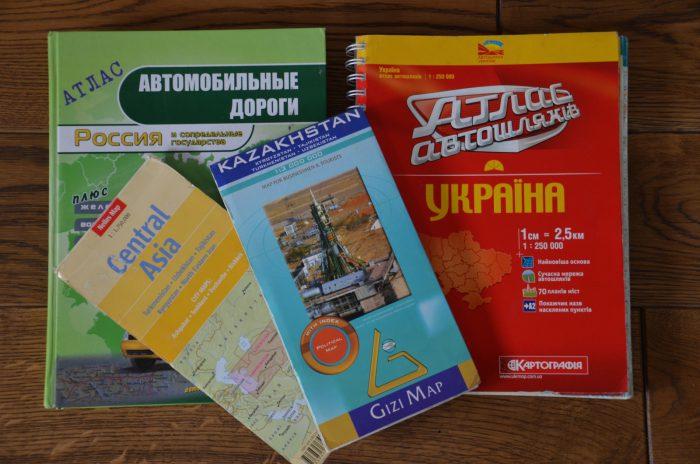 Ukraina, Rosja, Kazachstan, Uzbekistan, Tadżykistan, Kirgistan 2012 – dzień 1