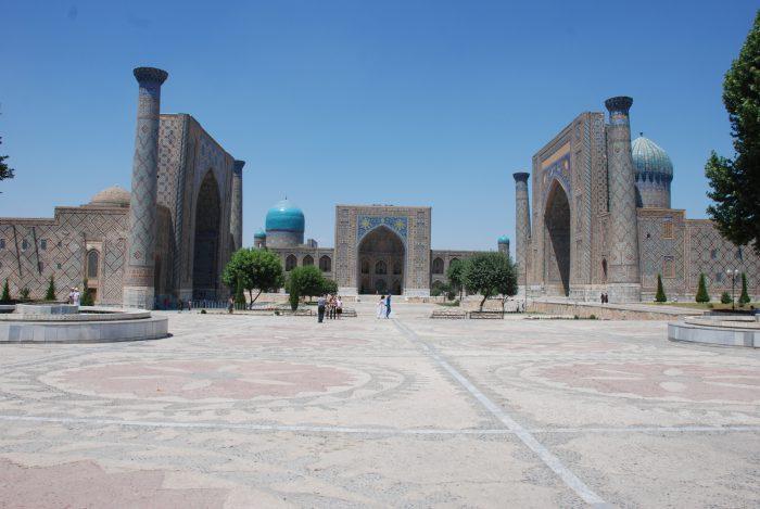 Ukraina, Rosja, Kazachstan, Uzbekistan, Tadżykistan, Kirgistan 2012 – dzień 12 i 13